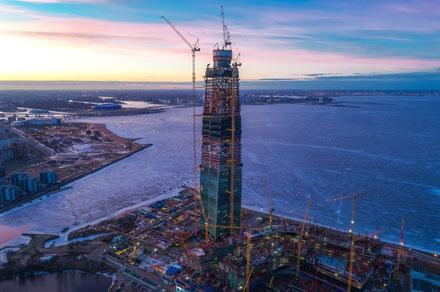 2-ю очередь Лахта-Центра будет строить турецкая компания.