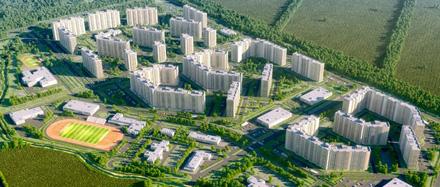 Райффайзенбанк аккредитовал 3 дома в жилом комплексе Новое Горелово.
